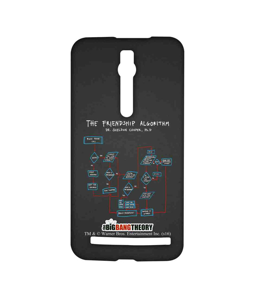 Big Bang Theory The Friendship Algorithm Sublime Case for Asus Zenfone 2