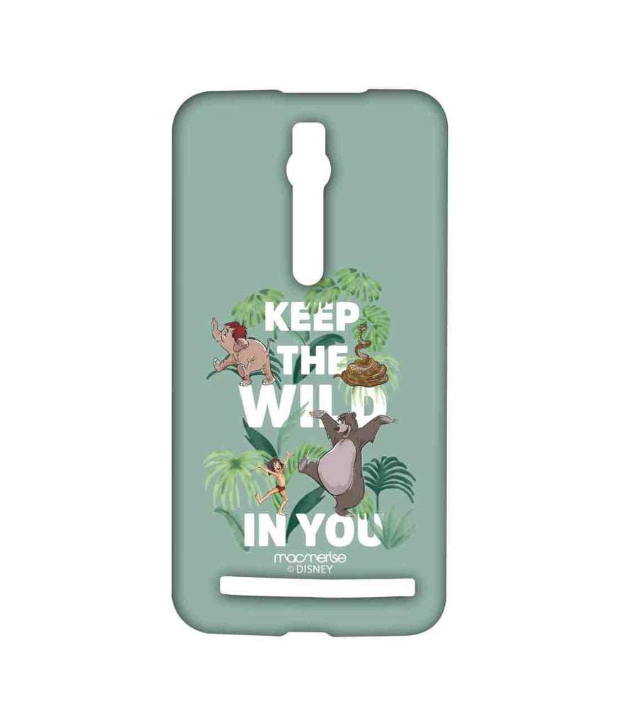 Disney The Jungle Book Mowgli and Baloo Wild in You Sublime Case for Asus Zenfone 2