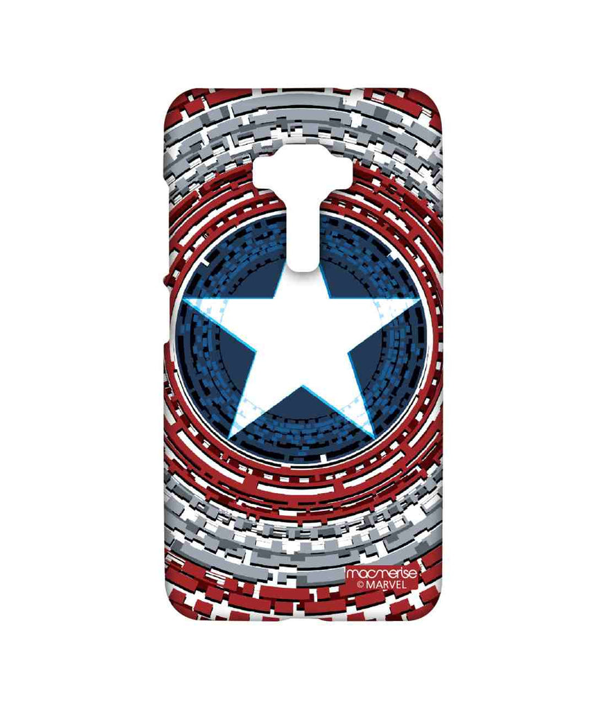 Civil War Captain America Captains Shield Engineered Sublime Case for Asus Zenfone 3 ZE552KL