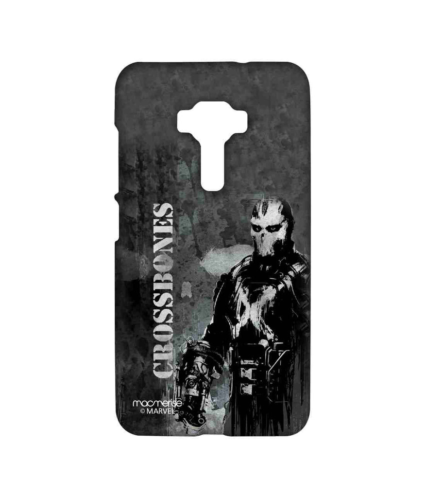 Captain America: Civil War Crossbones Greybones Sublime Case for Asus Zenfone 3 ZE552KL