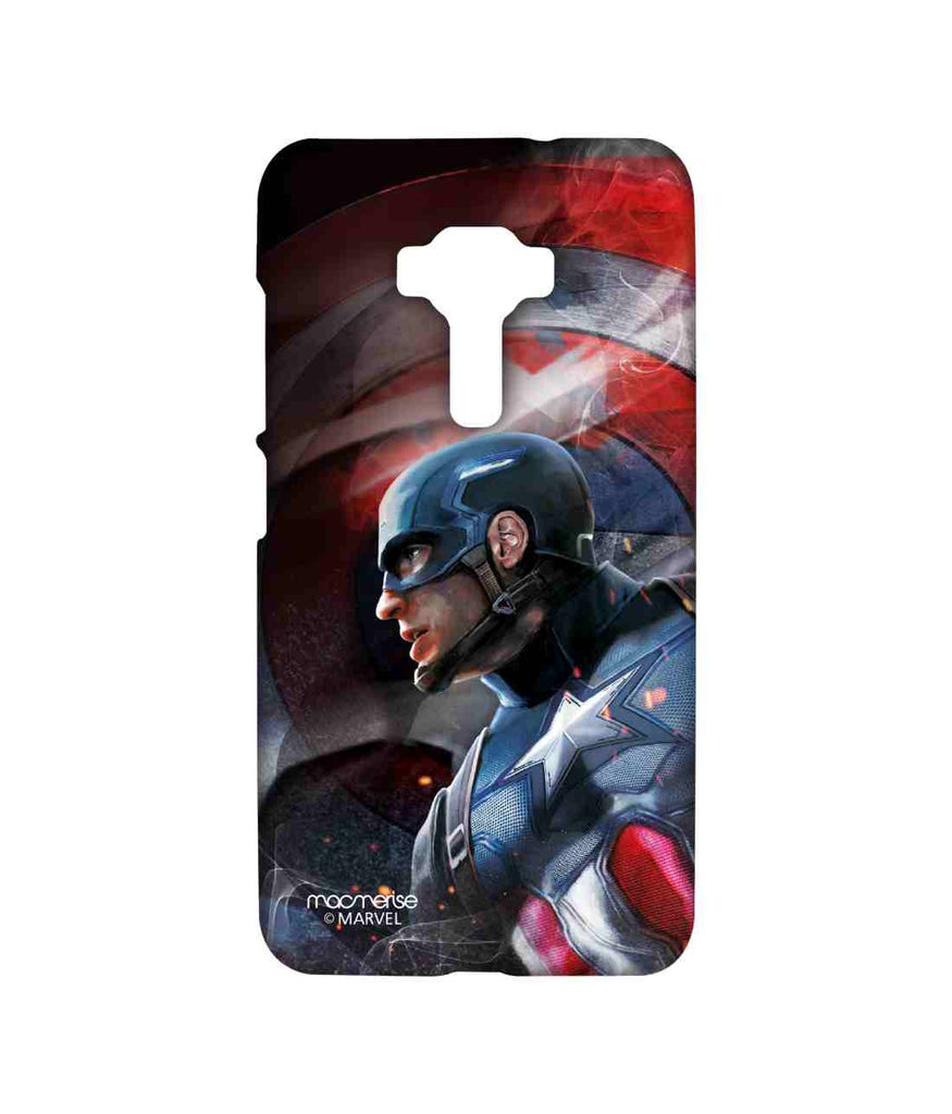 Civil War Captain America Here comes the Captain Sublime Case for Asus Zenfone 3 ZE552KL