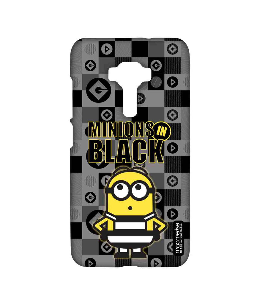 Despicable Me Minions In Black Sublime Case for Asus Zenfone 3 ZE552KL