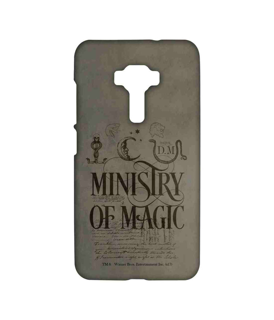 Harry Potter Ministry Of Magic Sublime Case for Asus Zenfone 3 ZE552KL