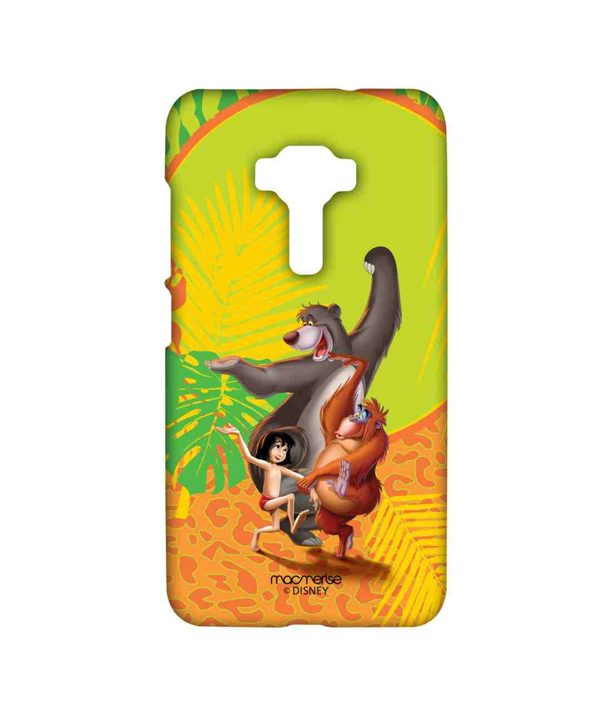 Disney The Jungle Book Mowgli and Baloo The Jungle Book Celebration Sublime Case for Asus Zenfone 3 ZE552KL