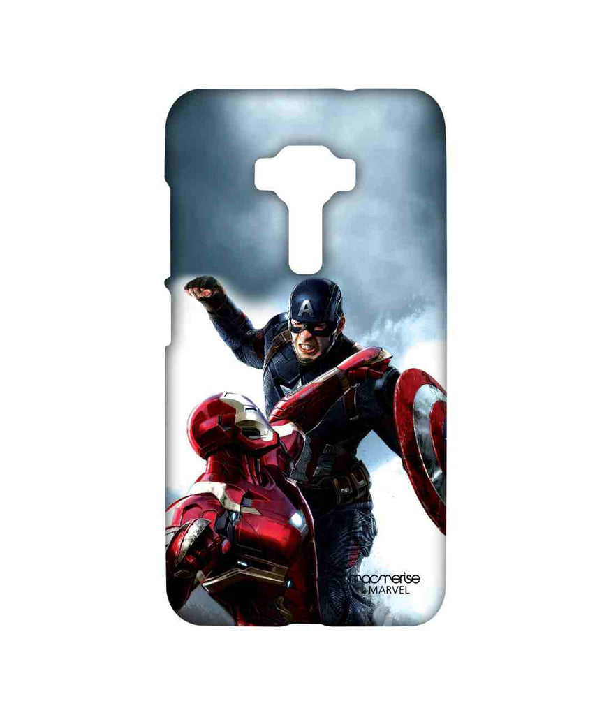 Captain America: Civil War Ironman and Captain America War is Here Sublime Case for Asus Zenfone 3 ZE552KL