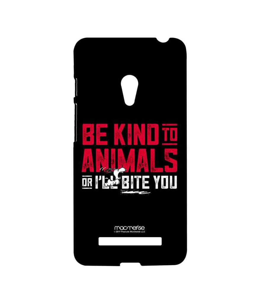 Snoopy Be Kind to Animals Sublime Case for Asus Zenfone 5