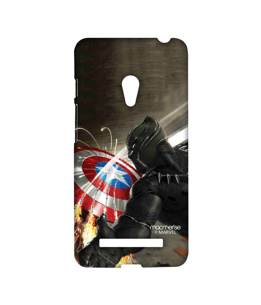 Captain America: Civil War Black Panther Destructive Panther Sublime Case for Asus Zenfone 5