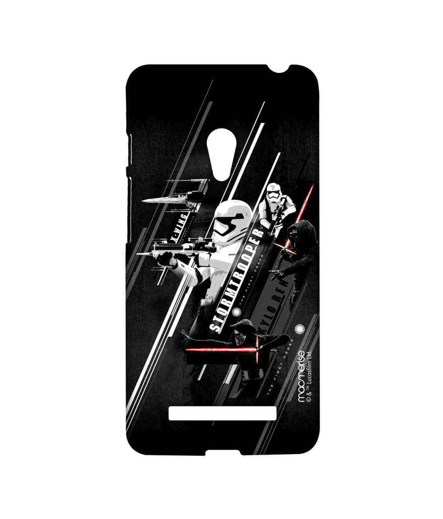 Star Wars Force Awakens Kylo Ren and Stormtrooper Episode VII Sublime Case for Asus Zenfone 5