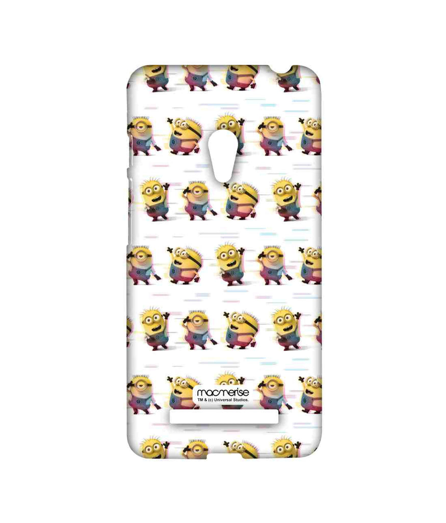 Despicable Me Minions Groovy Minions White Sublime Case for Asus Zenfone 5