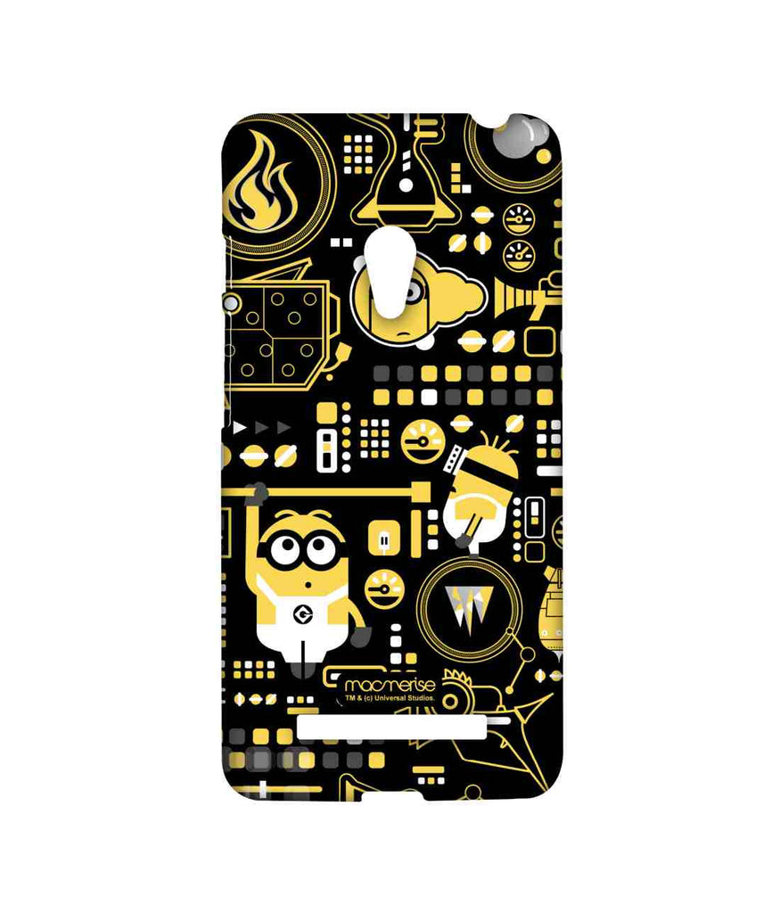 Despicable Me Minions Grus Work Mess Sublime Case for Asus Zenfone 5