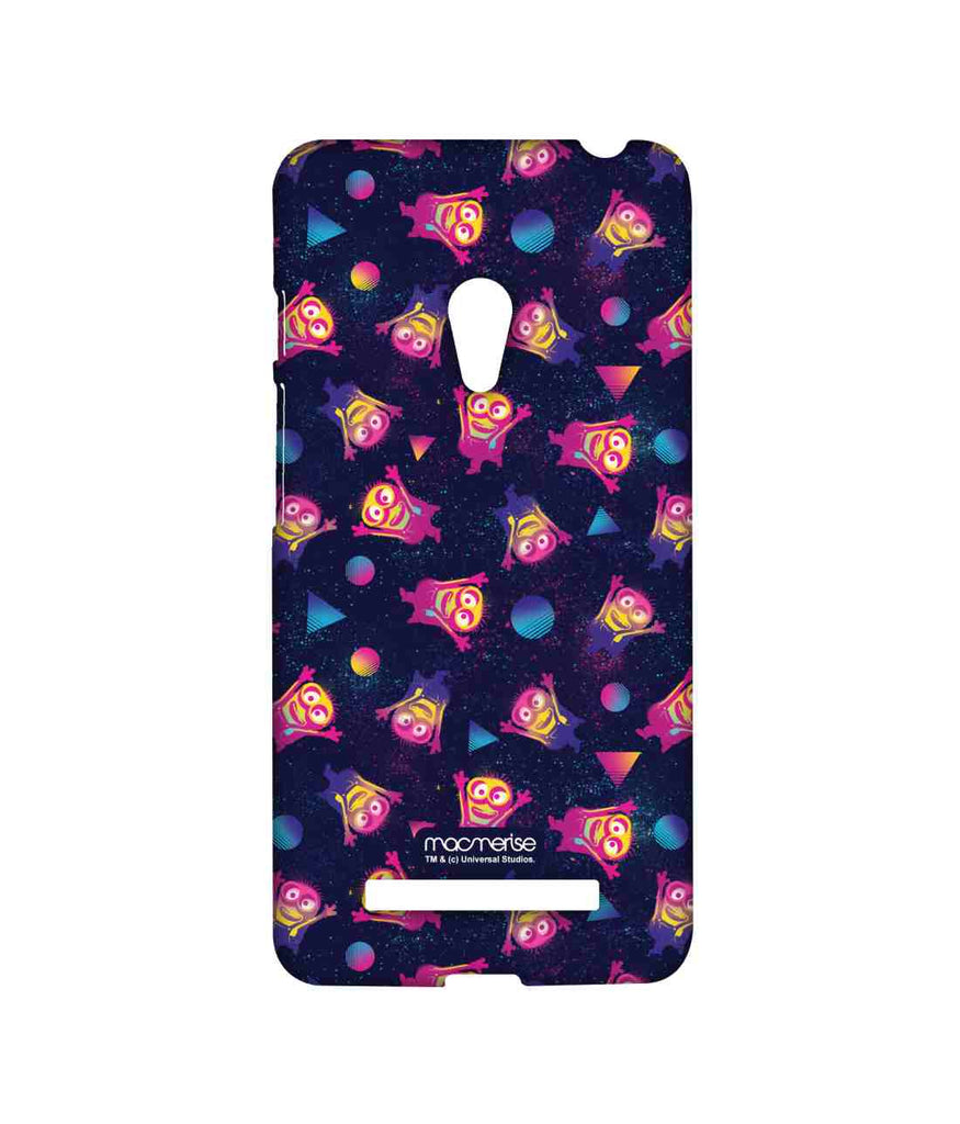 Despicable Me Minions Pattern Happy Minions Sublime Case for Asus Zenfone 5