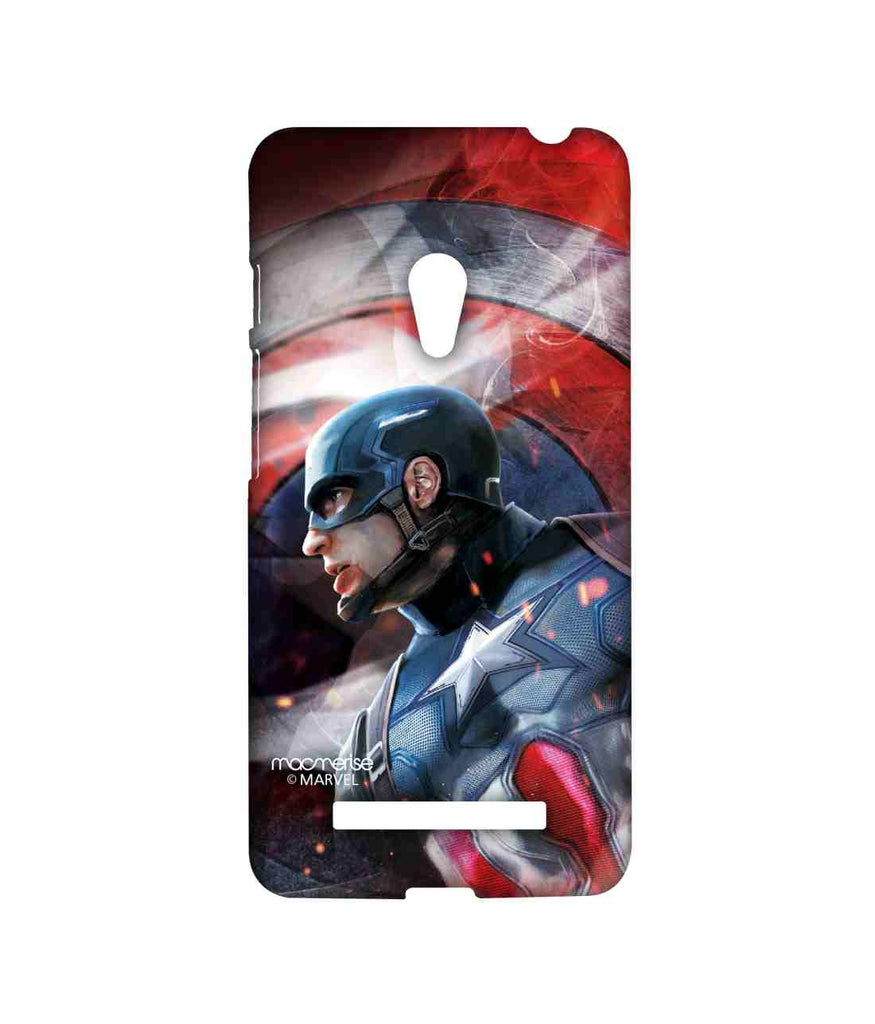 Civil War Captain America Here comes the Captain Sublime Case for Asus Zenfone 5