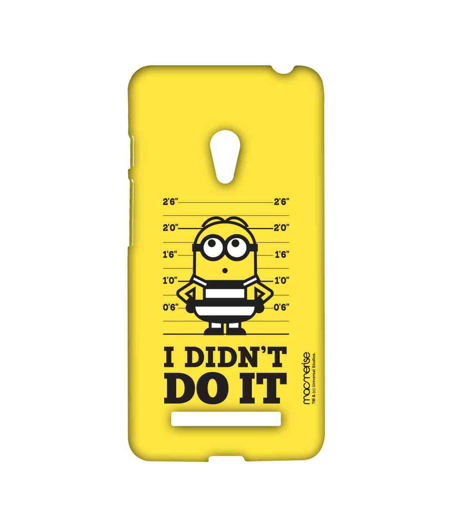 Despicable Me Minion Bob I Didn't Do It Sublime Case for Asus Zenfone 5