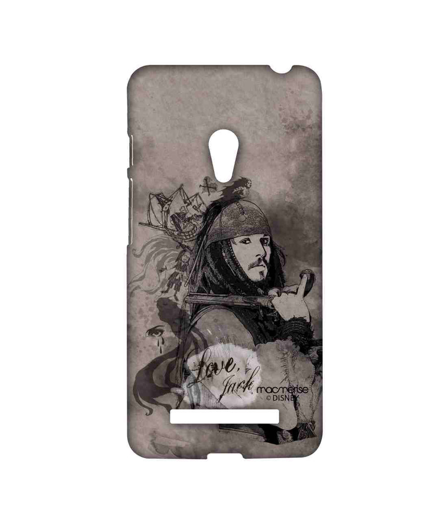 Pirates of the Caribbean Jack Sparrow Love Jack Sublime Case for Asus Zenfone 5