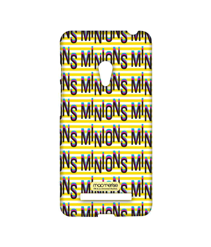Despicable Me Minions Word Art Sublime Case for Asus Zenfone 5