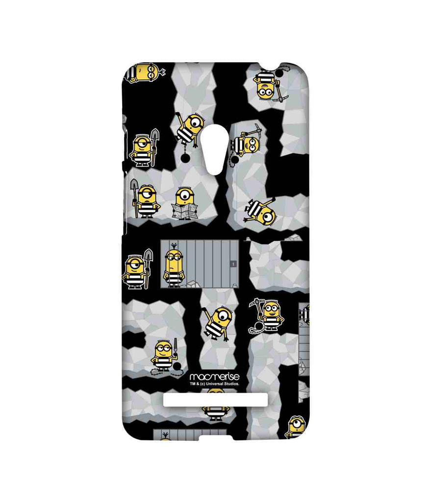 Despicable Me Minions Prison Break Black Sublime Case for Asus Zenfone 5