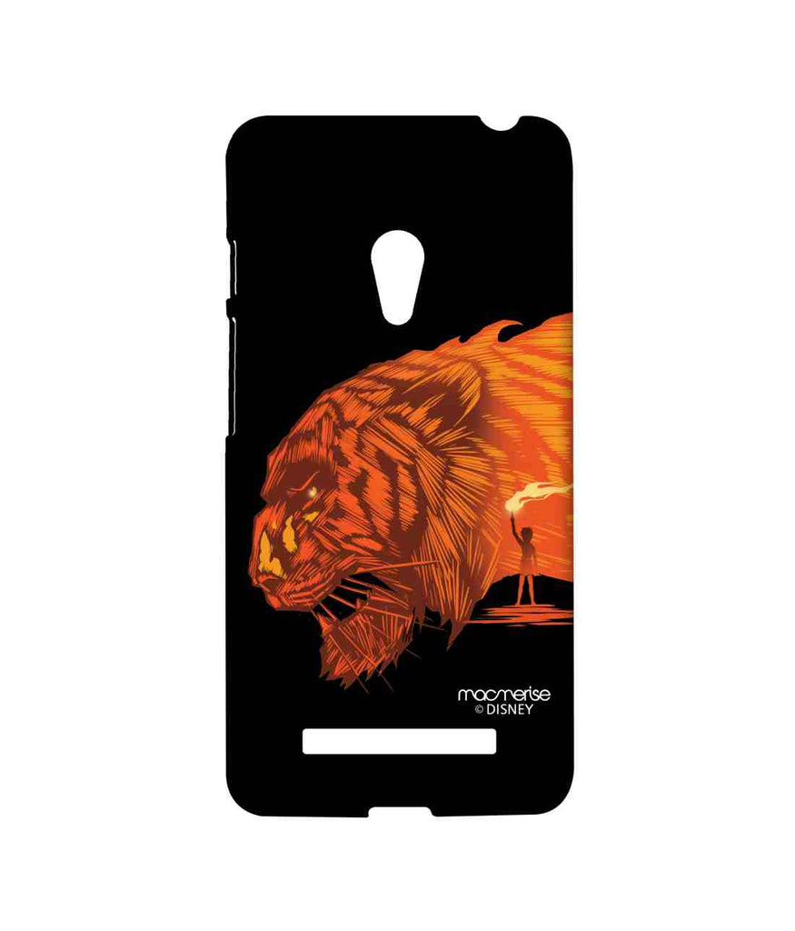 Disney The Jungle Book Share Khan and Mowgli Shere Khan Attack Sublime Case for Asus Zenfone 5