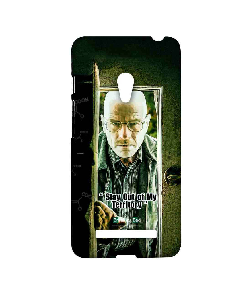 Breaking Bad Walter White Stay Out of My Territory Sublime Case for Asus Zenfone 5