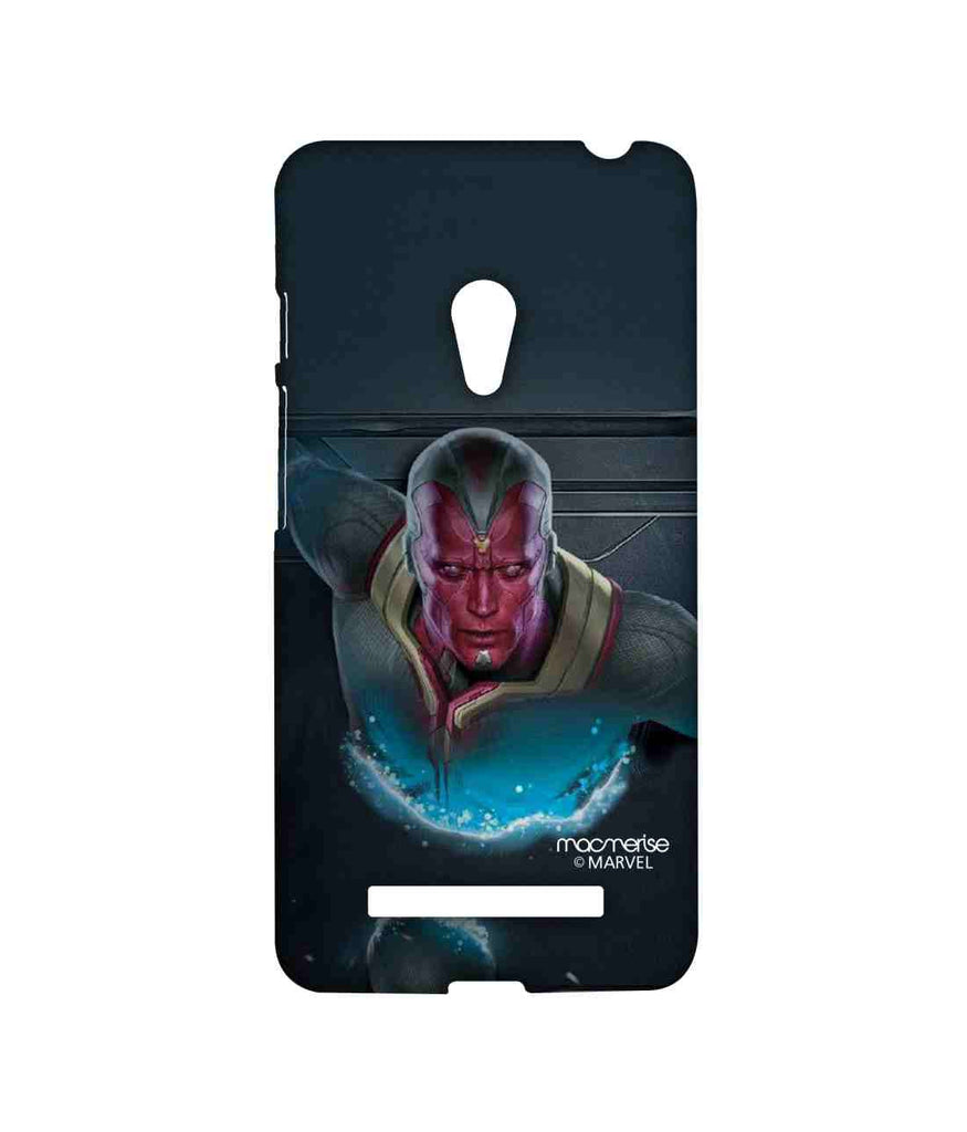 Captain America: Civil War Vision The Vision Stare Sublime Case for Asus Zenfone 5