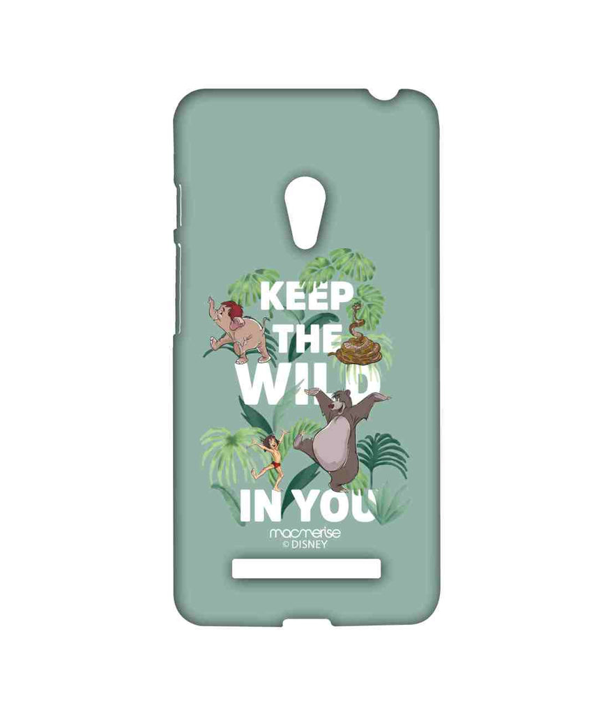 Disney The Jungle Book Mowgli and Baloo Wild in You Sublime Case for Asus Zenfone 5