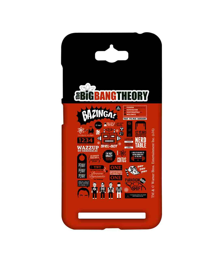 Big Bang Theory BBT Mashup Sublime Case for Asus Zenfone Max