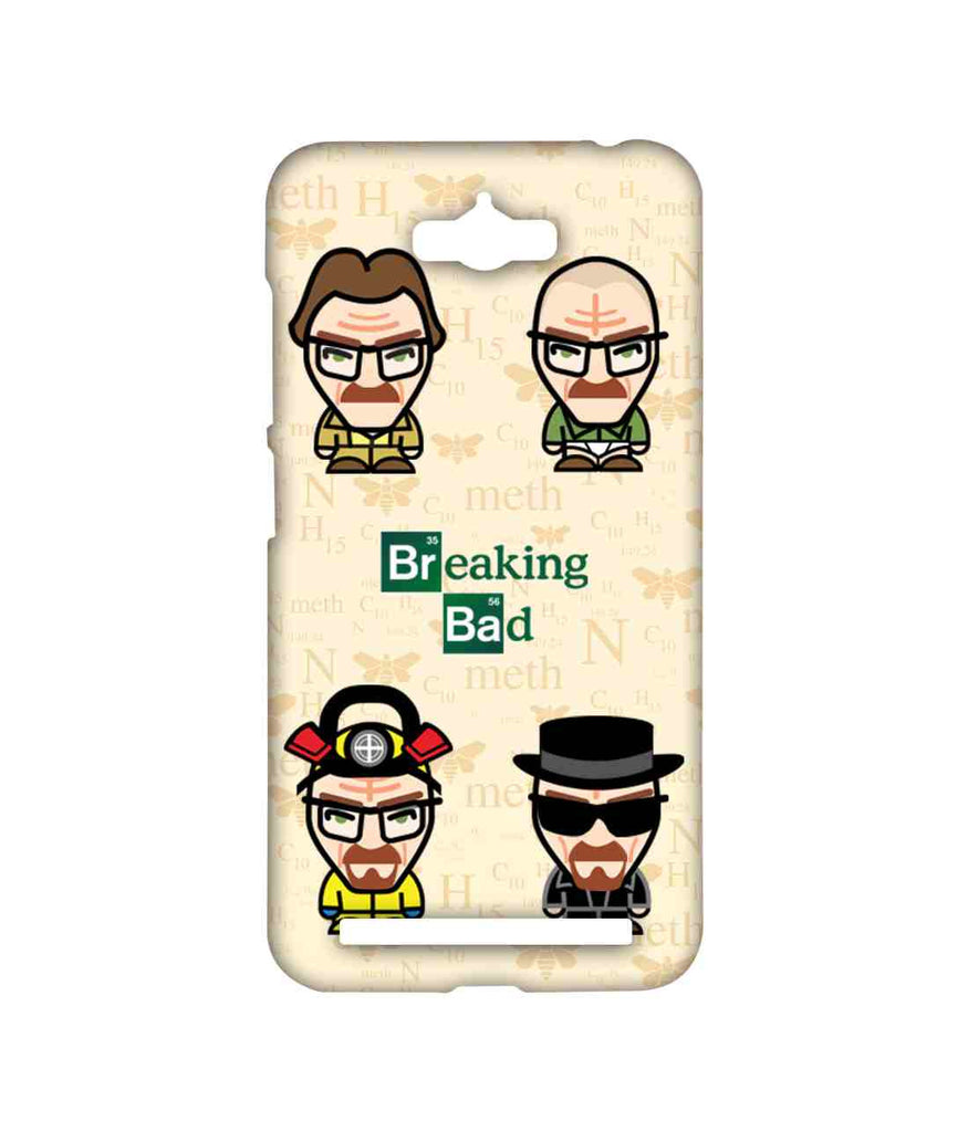 Breaking Bad Walter White Breaking Bad Caricatures Sublime Case for Asus Zenfone Max