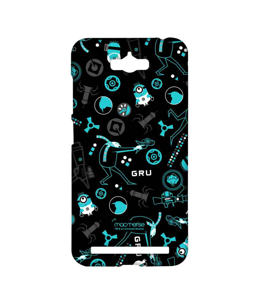 Despicable Me Minions Gru Mania Teal Sublime Case for Asus Zenfone Max