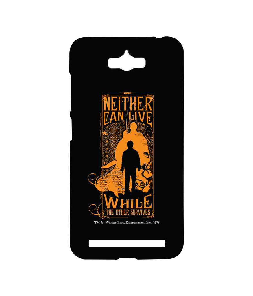 Harry Potter Voldemort Harry vs. Voldemort Sublime Case for Asus Zenfone Max
