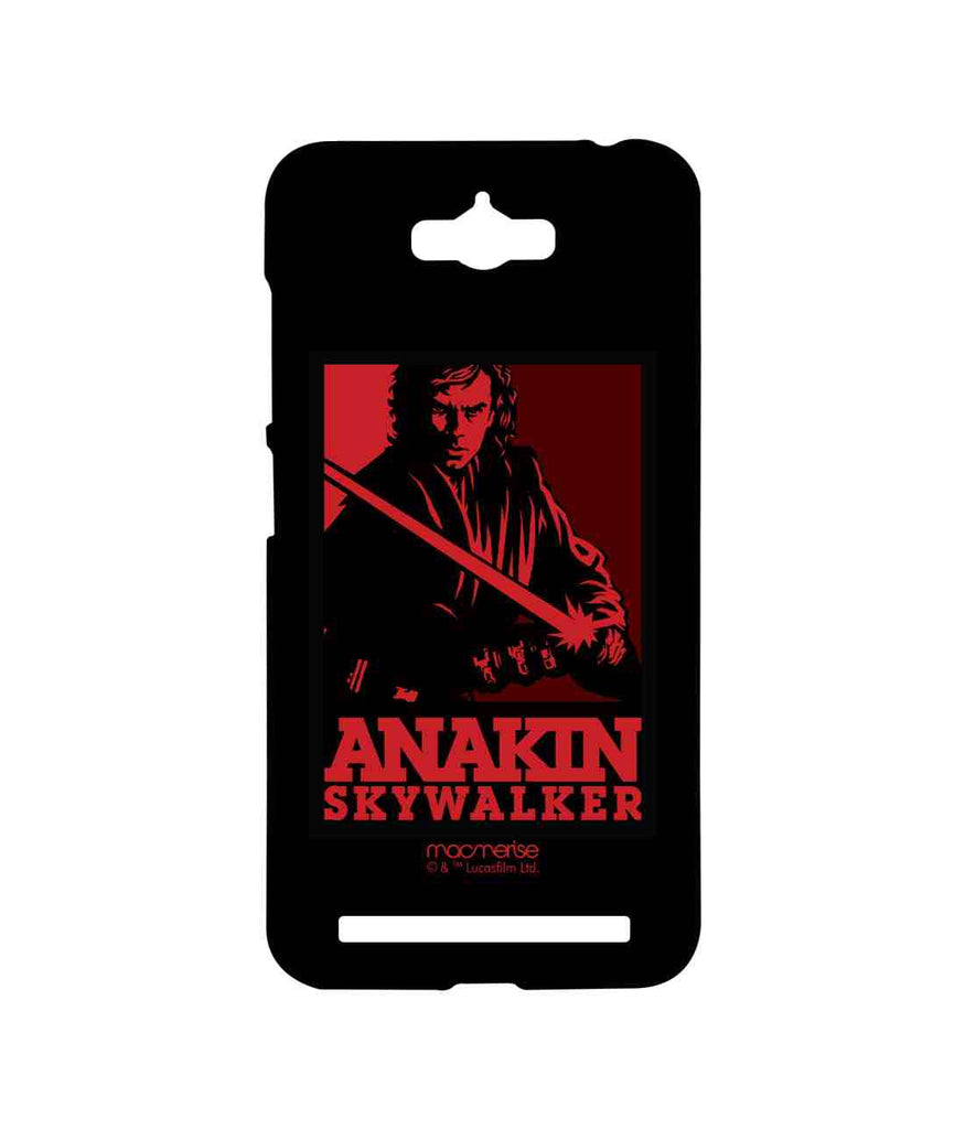 Star Wars Anakin Skywalker and Darth Vader Iconic Anakin Sublime Case for Asus Zenfone Max