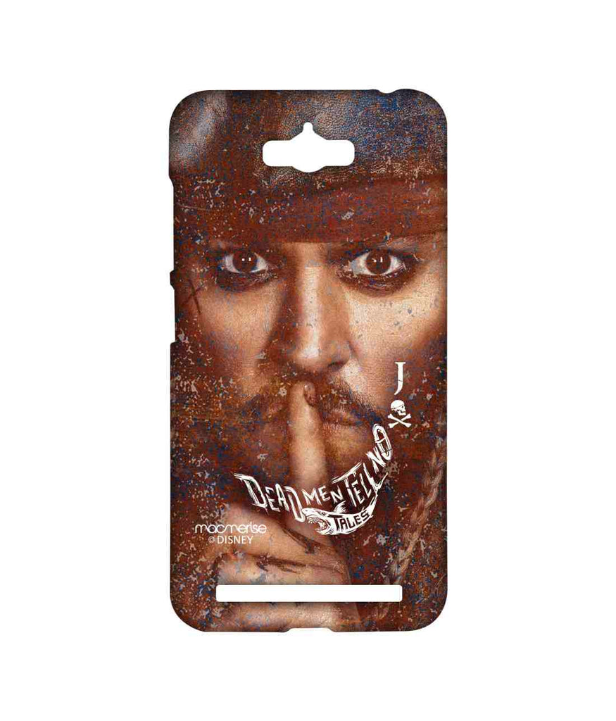 Pirates of the Caribbean Jack Sparrow Silence of Jack Sublime Case for Asus Zenfone Max