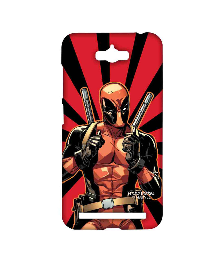 Comics Deadpool Smart Ass Deadpool Sublime Case for Asus Zenfone Max
