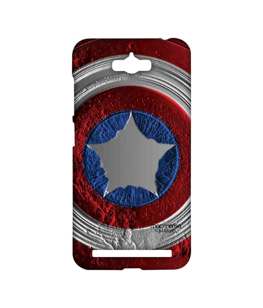Civil War Captain America Stoned Shield Sublime Case for Asus Zenfone Max