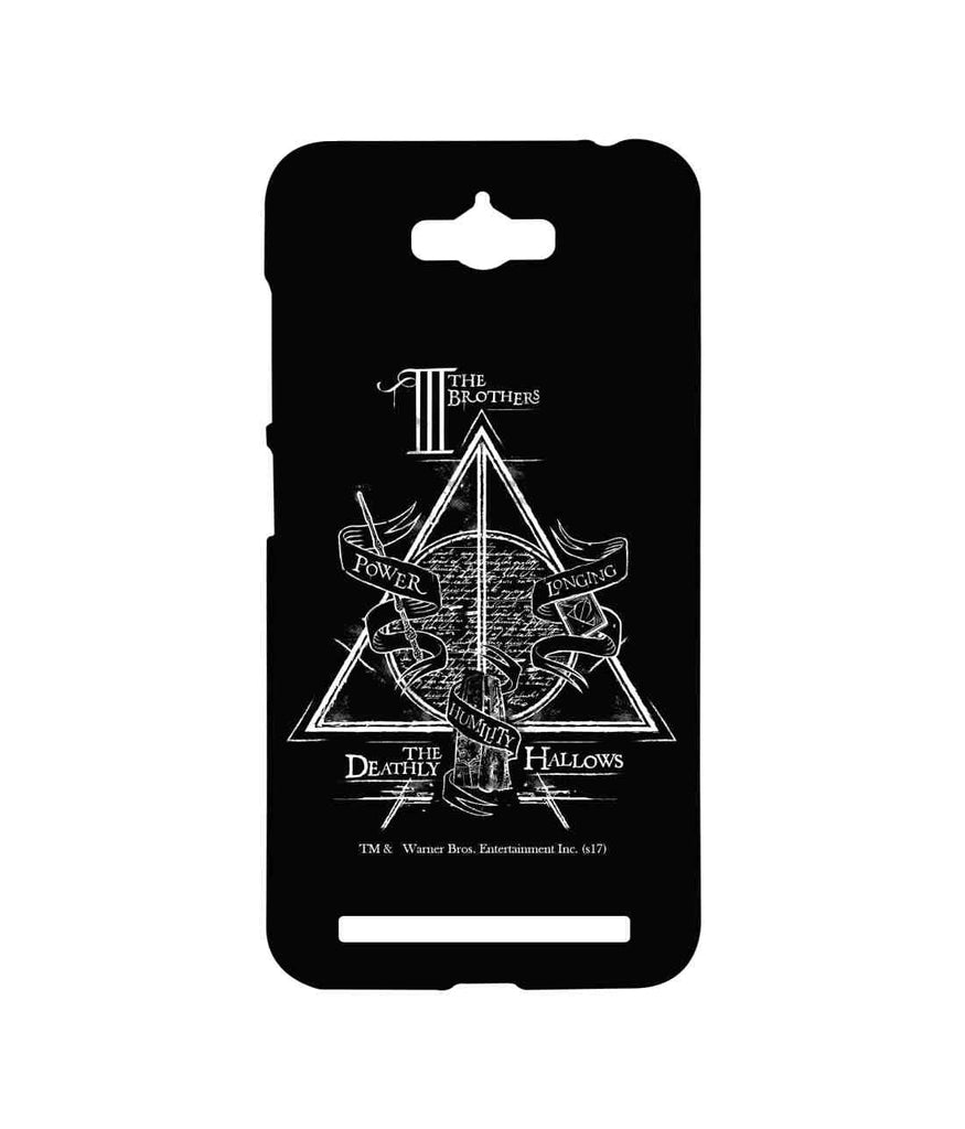 Harry Potter The Deathly Hallows Sublime Case for Asus Zenfone Max