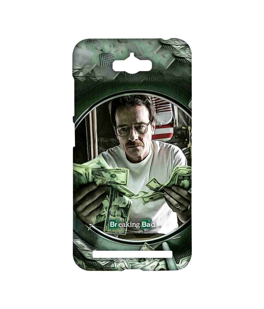 Breaking Bad Walter White Washing Dollars Sublime Case for Asus Zenfone Max