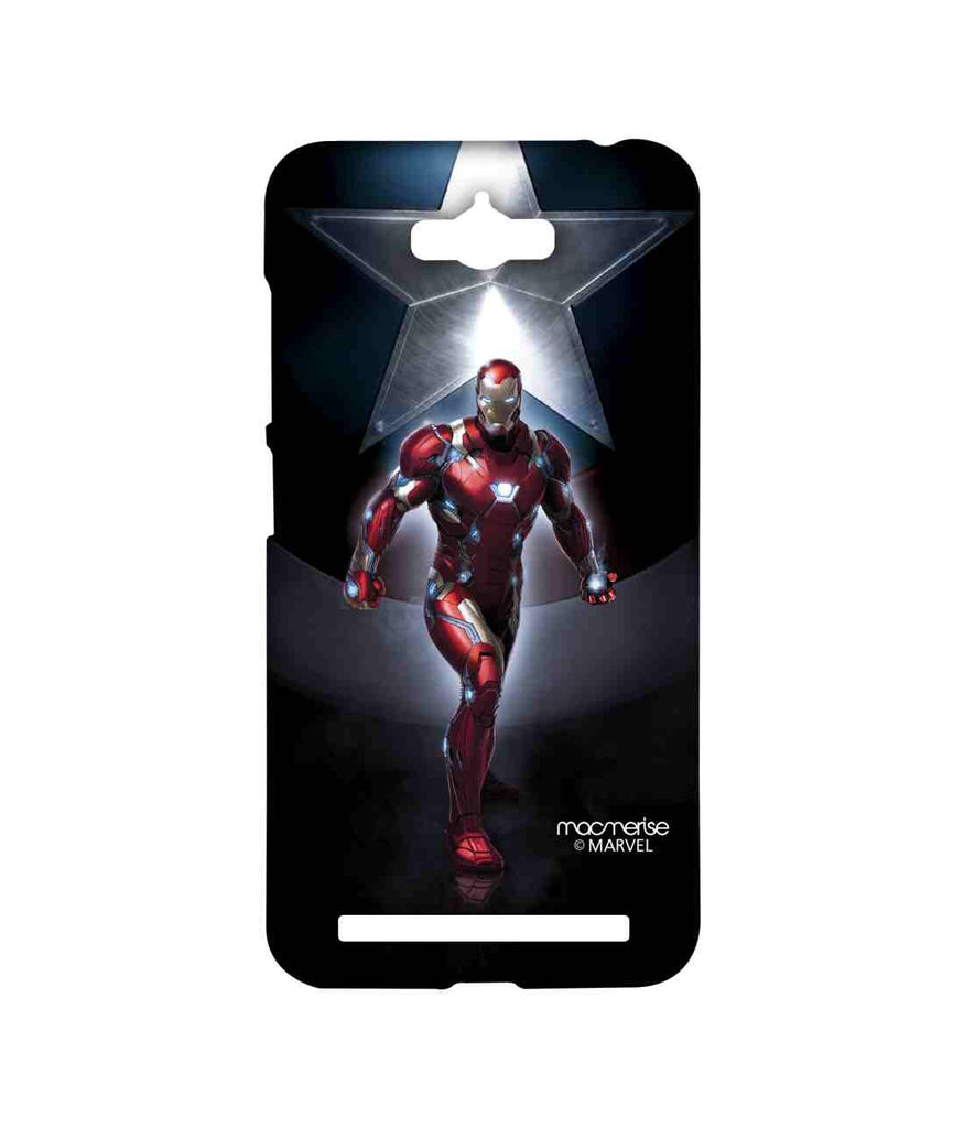Captain America: Civil War Ironman and Captain America Watchful Ironman Sublime Case for Asus Zenfone Max