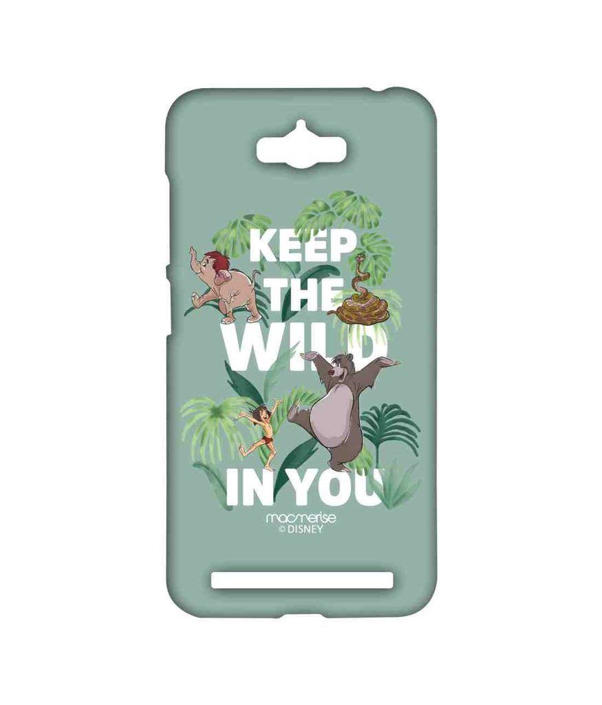 Disney The Jungle Book Mowgli and Baloo Wild in You Sublime Case for Asus Zenfone Max