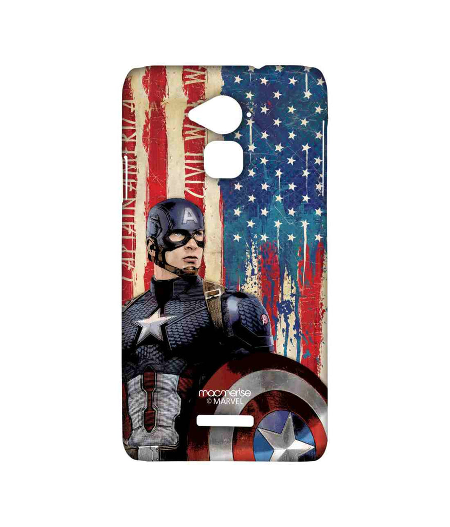 Civil War Captain America American Captain Sublime Case for Coolpad Note 3