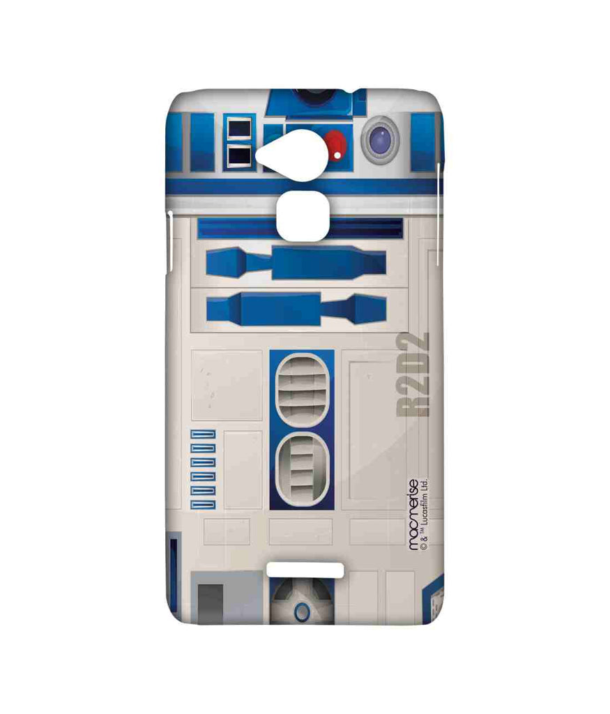 Star Wars R2D2 Attire R2D2 Sublime Case for Coolpad Note 3