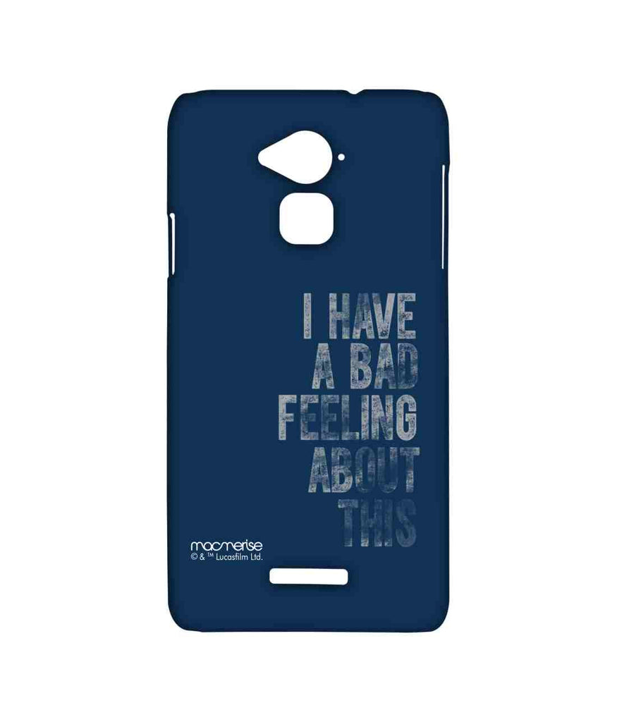 Star Wars Bad Feeling Sublime Case for Coolpad Note 3