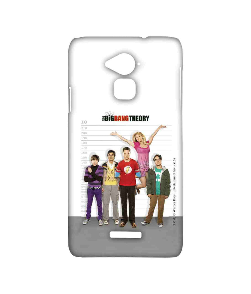 Big Bang Theory Leonard Sheldon Raj Howard and Penny BBT IQ Sublime Case for Coolpad Note 3