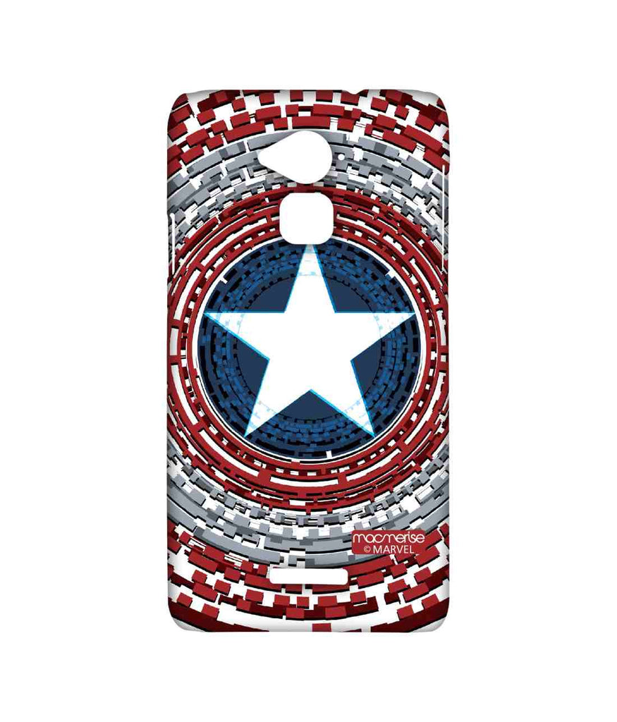 Civil War Captain America Captains Shield Engineered Sublime Case for Coolpad Note 3
