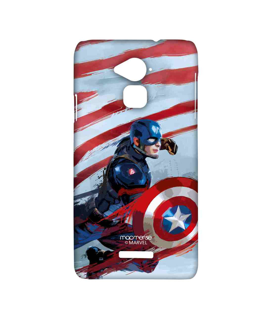 Civil War Captain America Captain Strokes Sublime Case for Coolpad Note 3