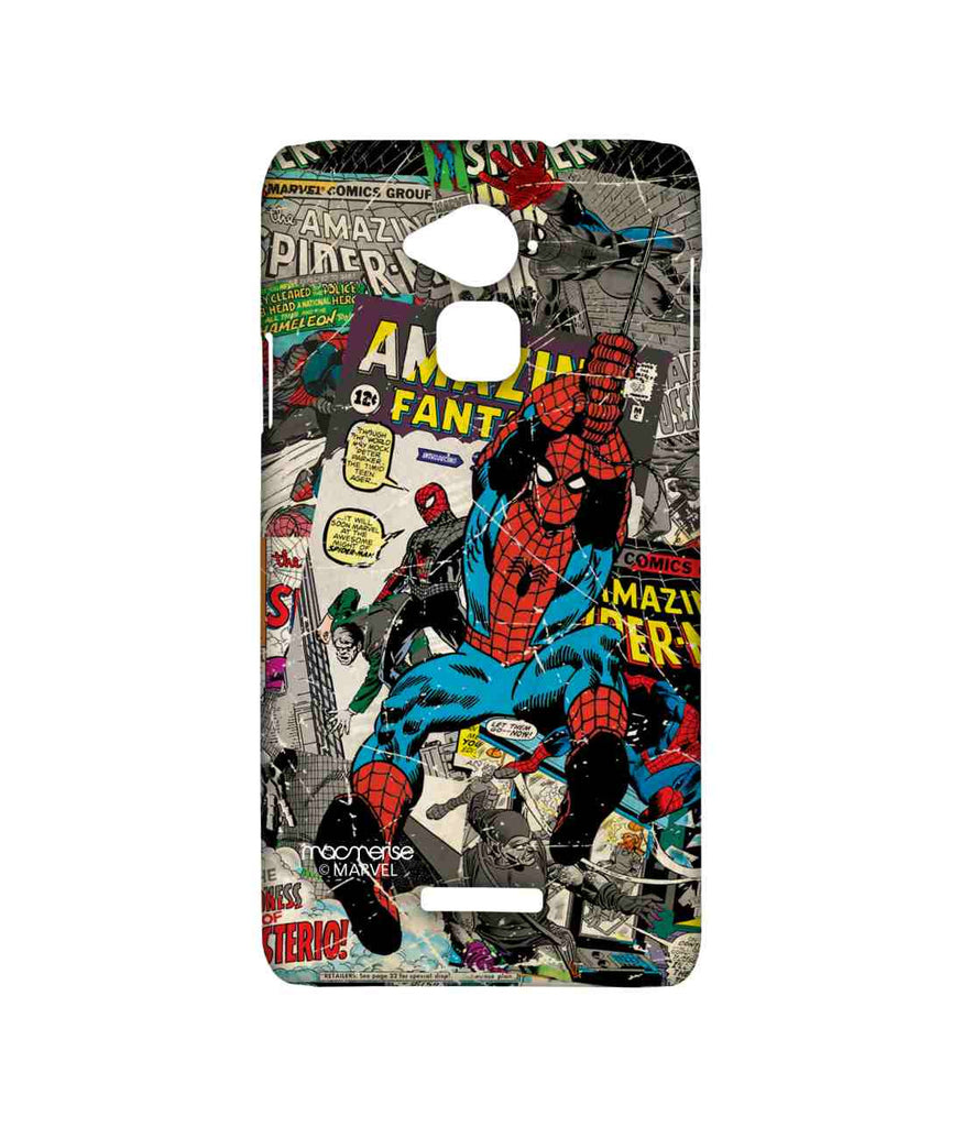 Comics Spiderman Comic Spidey Sublime Case for Coolpad Note 3