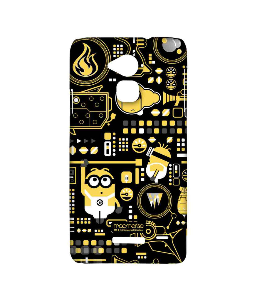 Despicable Me Minions Grus Work Mess Sublime Case for Coolpad Note 3