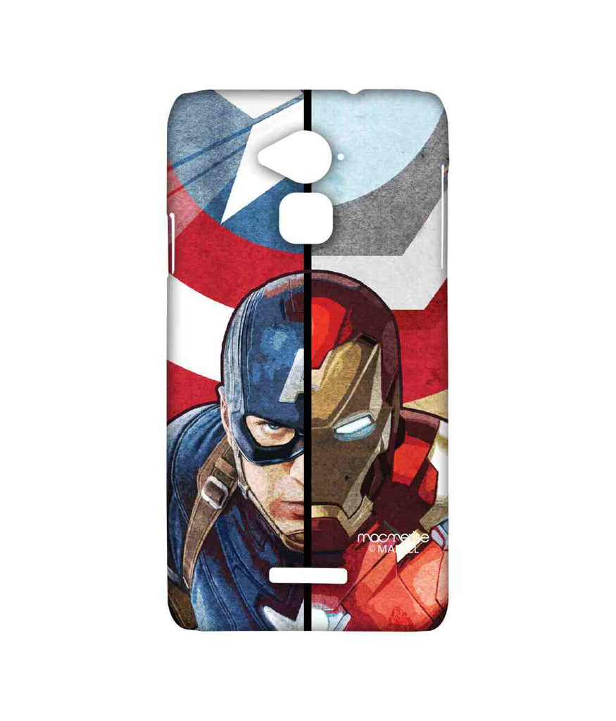 Civil War Captain America Man vs. Machine Sublime Case for Coolpad Note 3