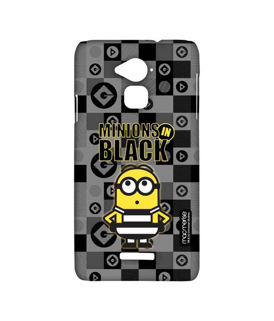 Despicable Me Minions In Black Sublime Case for Coolpad Note 3