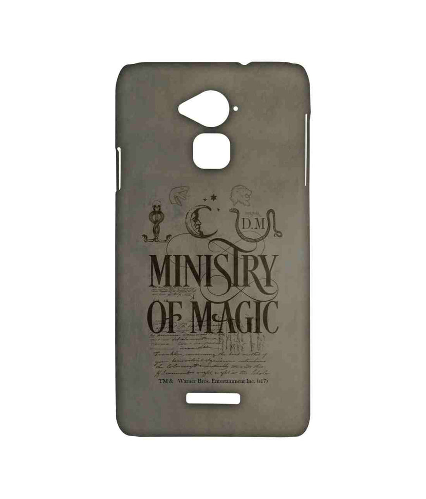 Harry Potter Ministry Of Magic Sublime Case for Coolpad Note 3