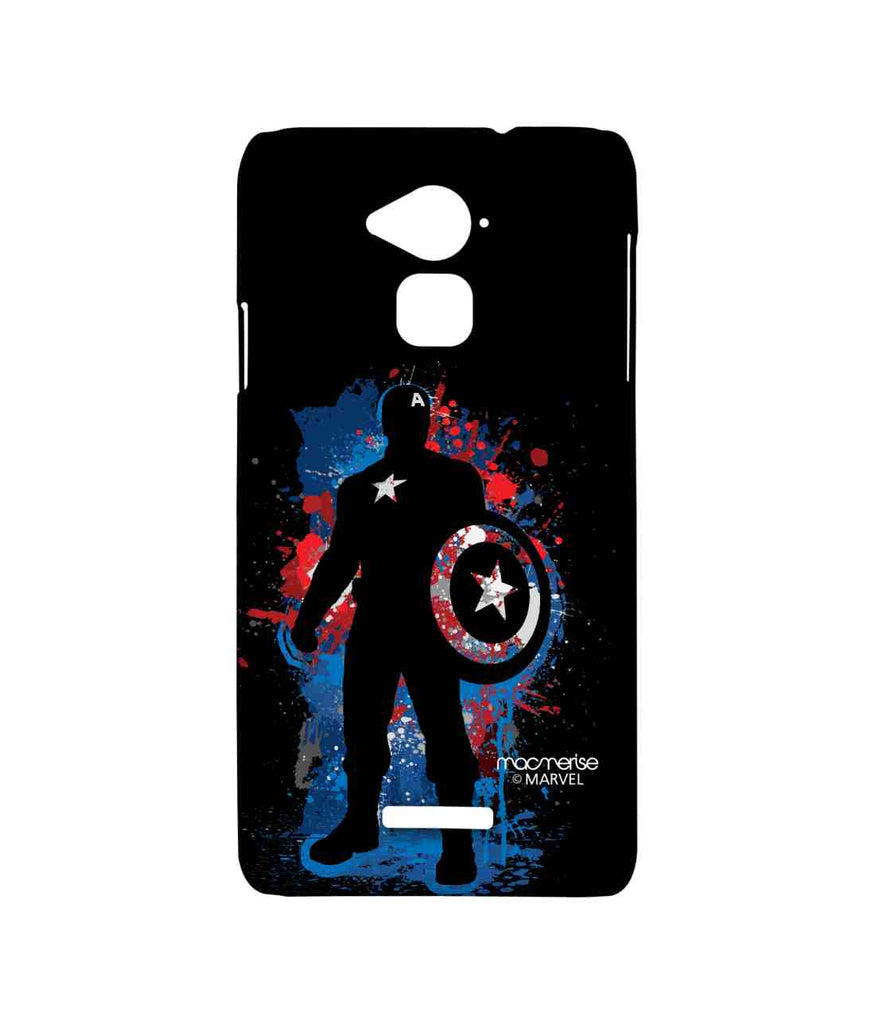 Civil War Captain America Spray Splash Captain Sublime Case for Coolpad Note 3