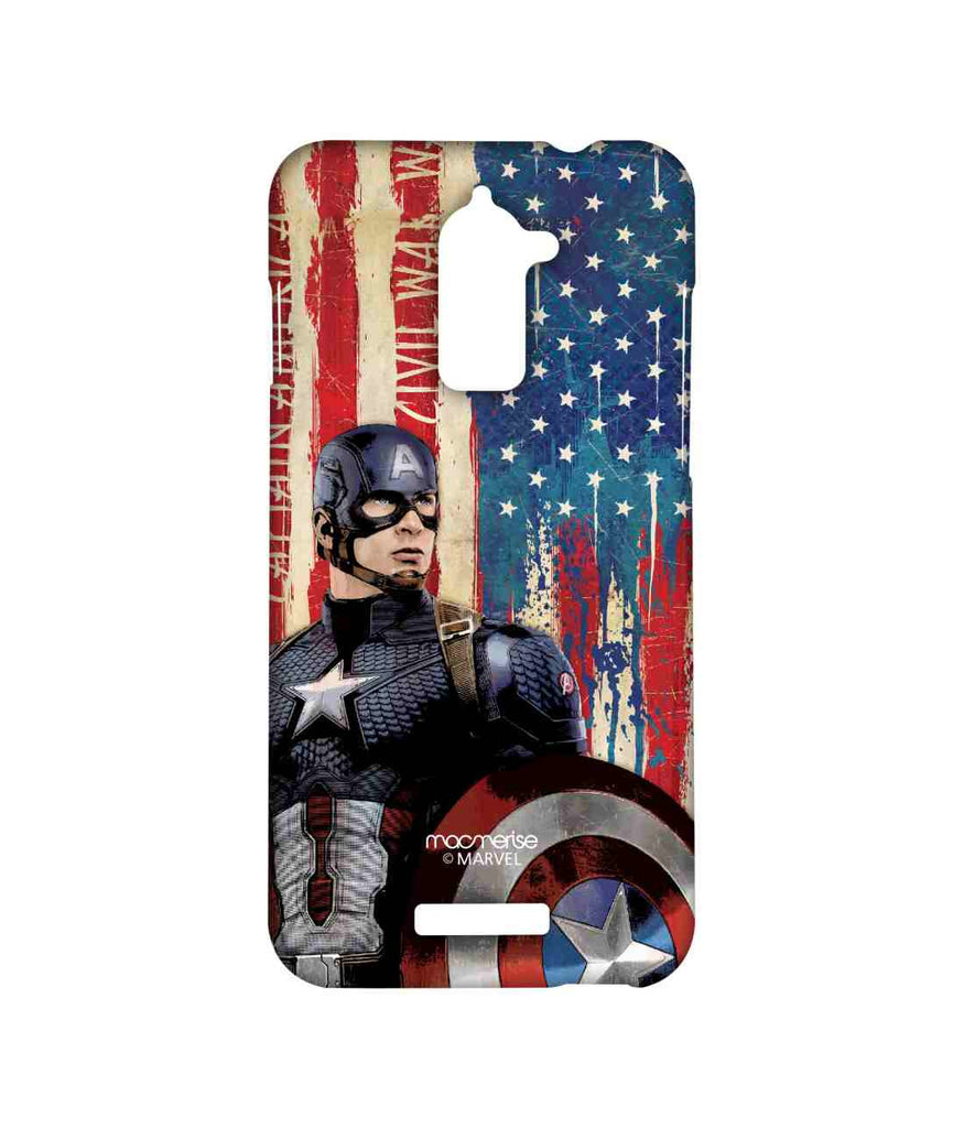 Civil War Captain America American Captain Sublime Case for Coolpad Note 3 Lite