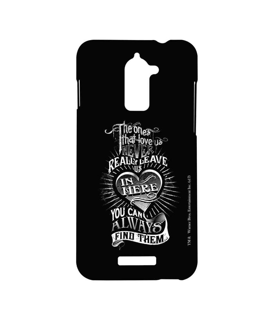 Harry Potter Find Loved Ones Black Sublime Case for Coolpad Note 3 Lite